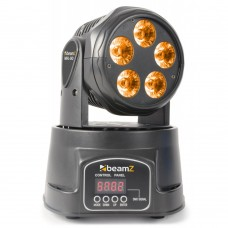 BEAMZ MHL-90 LED MINI MOVING HEAD WASH 5