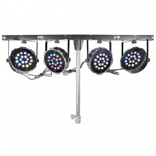 Beamz LED Parbar 4 way kit 18X 1W RGB