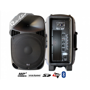 FILO FCA12A 12″ ACTIVE MOULDED SPEAKER MP3/USB/SD/FM BLUETOOTH